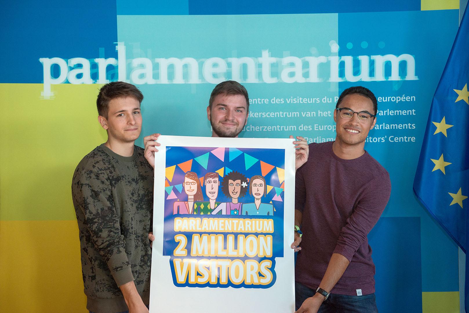 2 милиона посетители в ЕП
